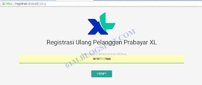 Kembali melalui goresan pena ini kami akan menyebarkan informasi yang masih terkait dengan informa Cara Registrasi Ulang Kartu / Sim Card Axis & XL via Website