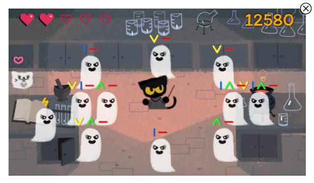 Daftar Game Google Doodle Terbaik dan populer