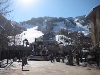 The base of Aspen Mountain