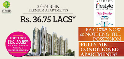 2, 3 and 4 BHK Premium apartments at Mahagun Mywoods at Noida Extension