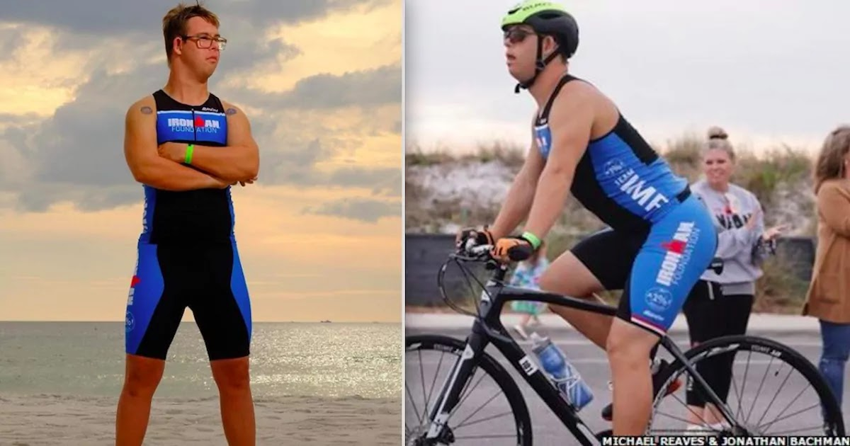 Man From Florida Becomes First Person With Down's Syndrome To Ever Complete A Triathlon
