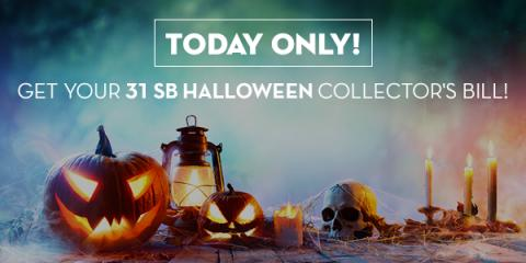 Image: Halloween Collector's Bill - Today Only!!