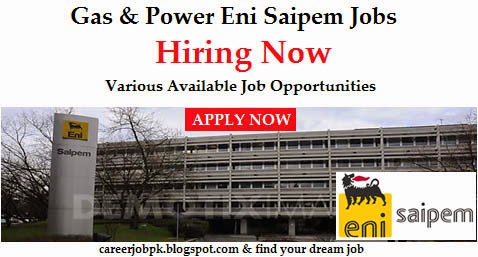 Oil and Gas Jobs in Eni Saipem Sharjah