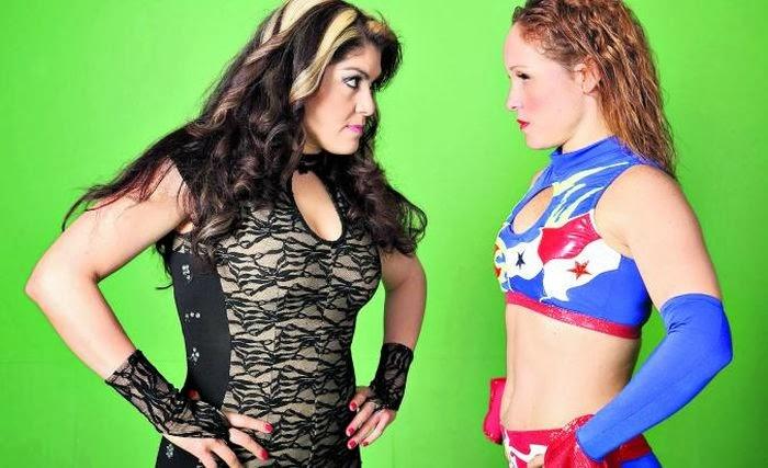 Princesa Blanca, Dalys la Caribena, lucha libre, CMLL
