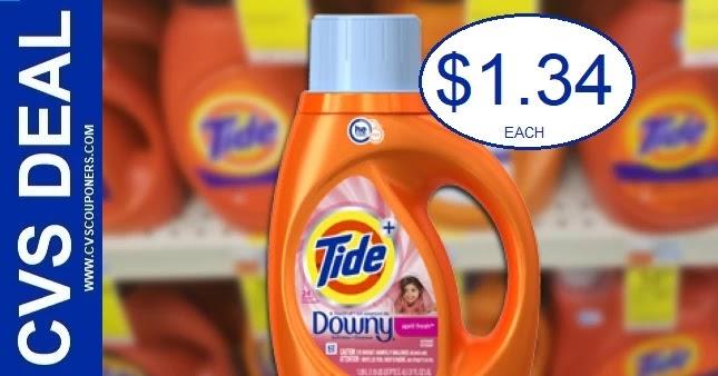 Tide Laundry Detergent CVS Deal 9-19-9-25