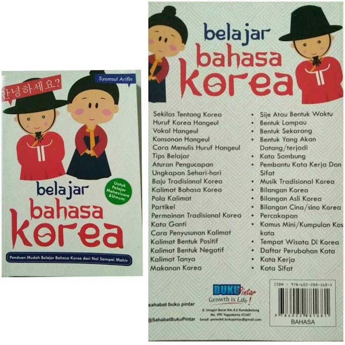 6 Buku Belajar Bahasa Korea Bagi Pemula