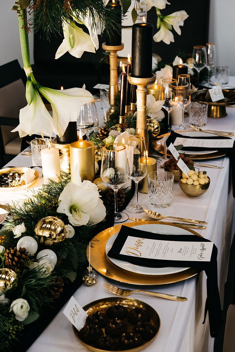 Best ideas for party table new years