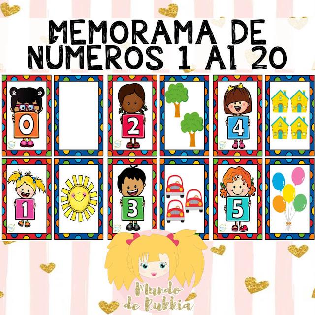 memorama-aprender-numeros-1-al-20