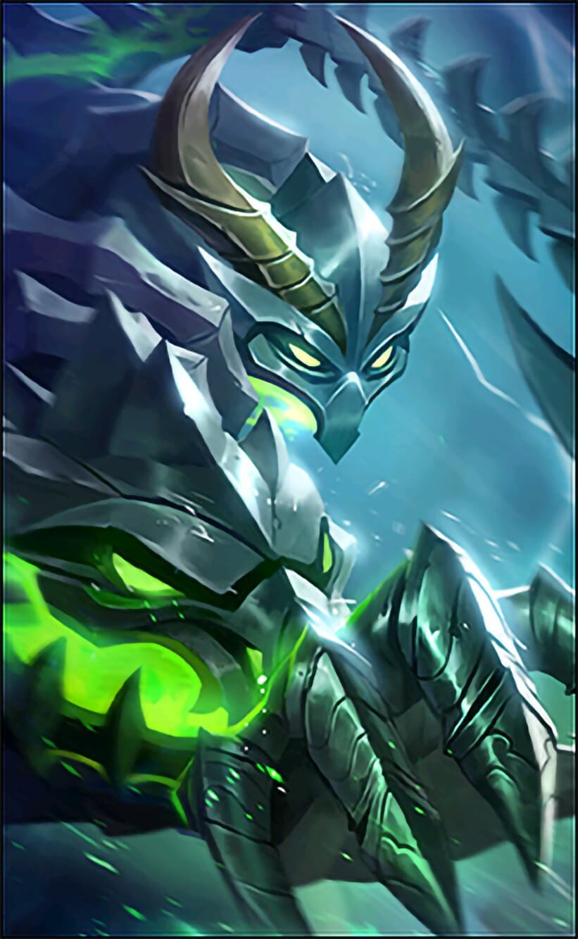 Wallpaper Moskov Spear of Bone Dragon Skin Mobile Legends for Android and iOS