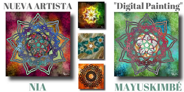 Nia Mayuskimbé nueva artista del digital painting