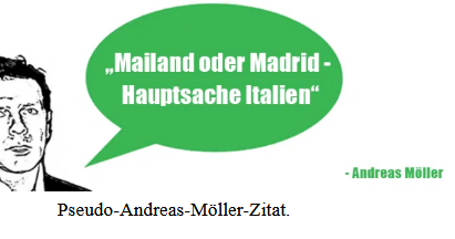 Mailand Oder Madrid Hauptsache Italien Video