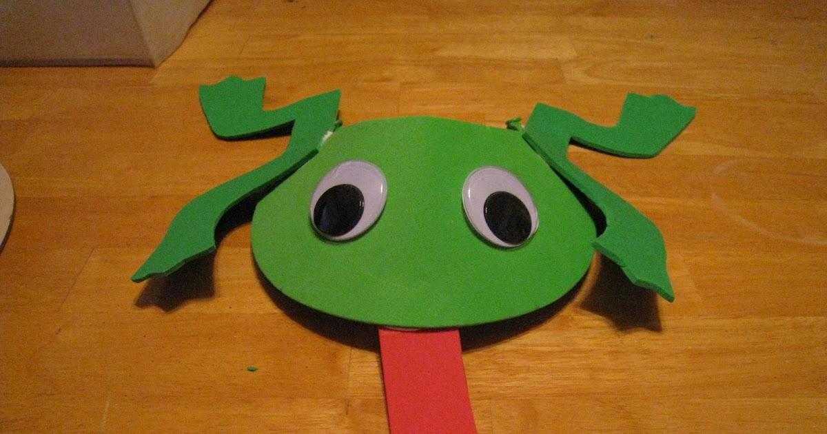 crafts 4 camp fun foam frog visor