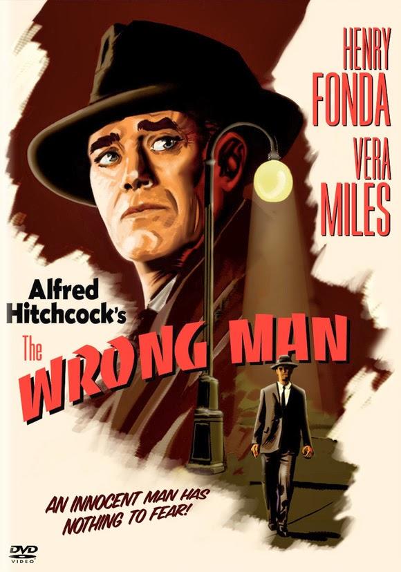 Αφίσα για την ταινία Ο Λάθος Άνθρωπος του Χίτσκοκ