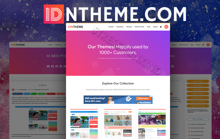 Idntheme Pro Responsive Blogger Template