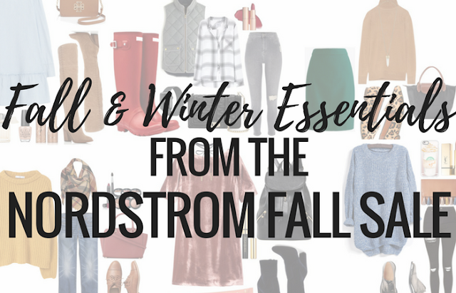 If you know me, you know I love a good sale. This year's Nordstrom Fall sale is no exception! Sales like this are a great time to buy higher priced items that you will wear this year and many more in the future. I've rounded up a few of the best items from this year's sale that you won't want to miss including boots, jackets, and jeans! This sale ends on 11/12 so if you haven't shopped then what are you waiting for?!