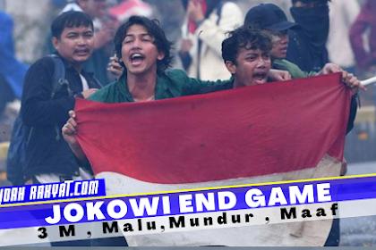 Jokowi End Game ? Demo Mahasiswa