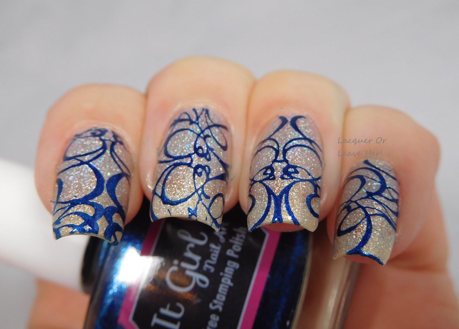 Nail Art Ideas » Nail Art Stamping Polish - Pictures of Nail Art ...