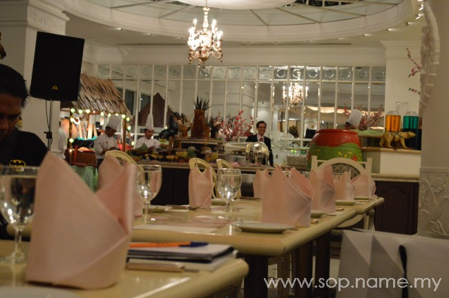 Iftar Ramadhan di Palace of the Golden Horses
