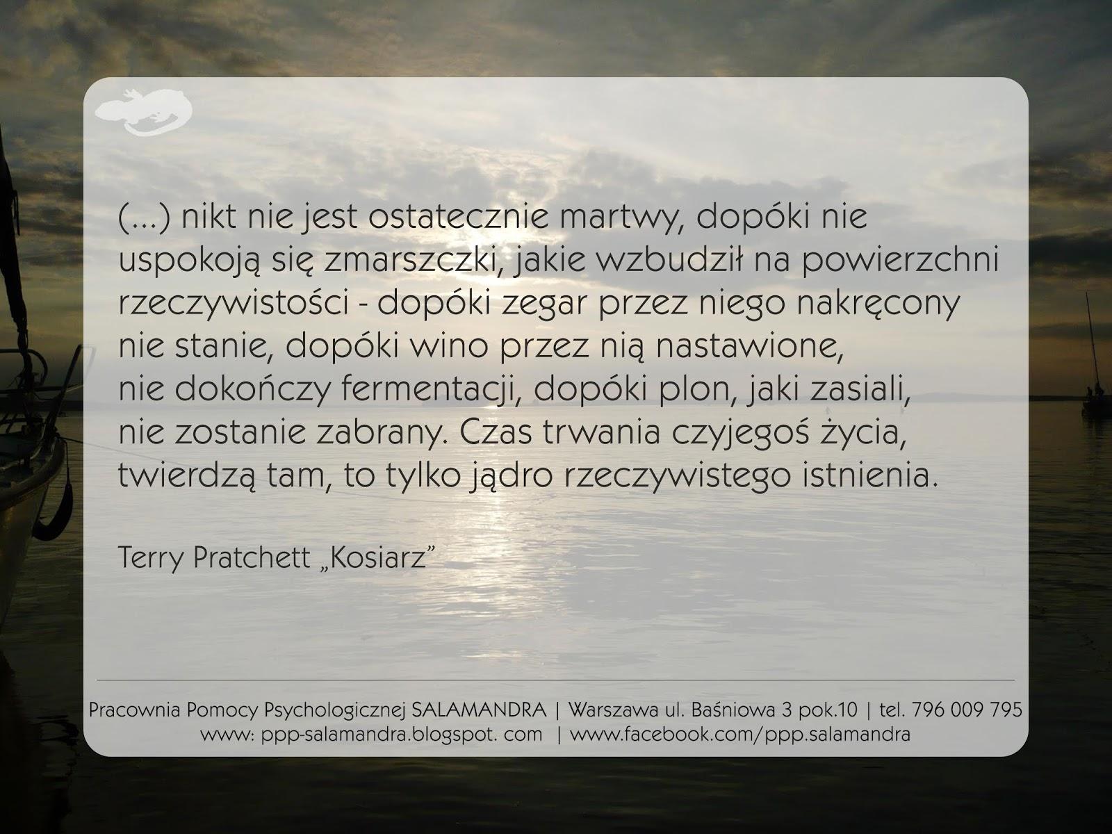 Pratchett o śmierci i przemijaniu