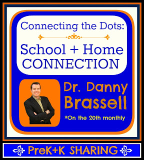 "photo of: ""Connecting the Dots: The School and Home Connection"" by Dr. Danny Brassell at PreK+K Sharing"