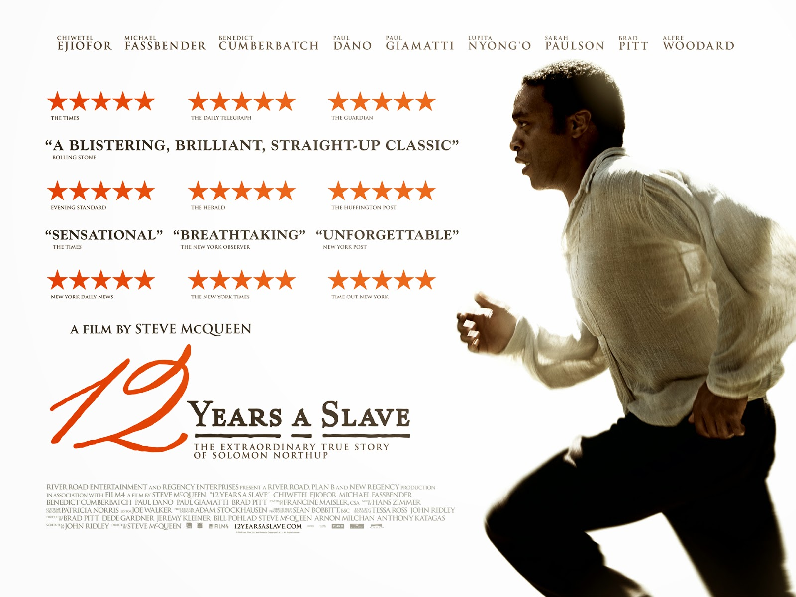 12 Years A Slave wins the Oscar for Best Picture at the 2014 Academy Awards