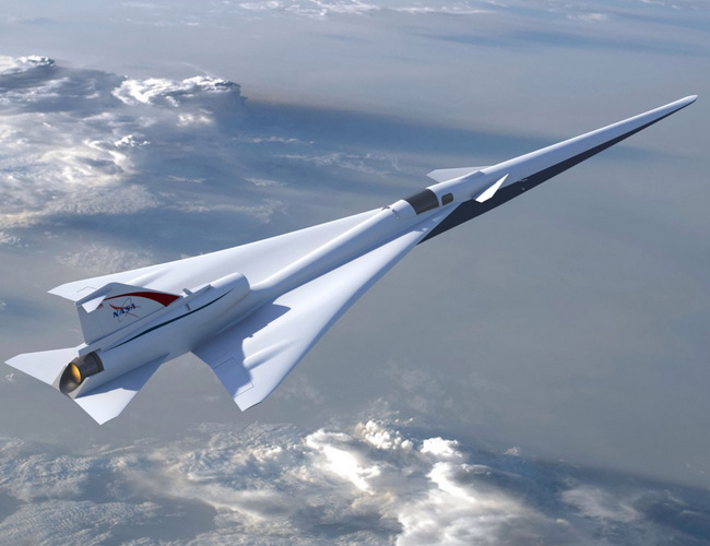 Tinuku Lockheed Martin won NASA contract to develop supersonic without sonic boom