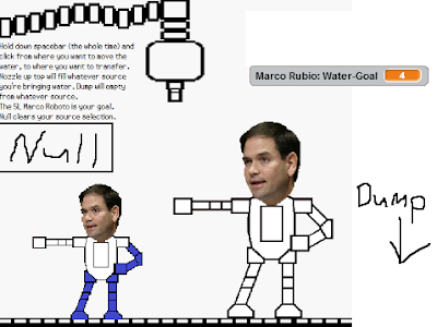 The Wonderful 1237 Marco Rubio Roboto Fillbots Water Fuel Fill 4 Lil' robot