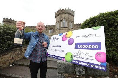 0 National Lottery winner Shawn Keeley 2JPG - Grocery store supervisor who received £1million lottery prize says he will not give up his job