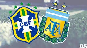مشاهدة مباراة البرازيل والأرجنتين