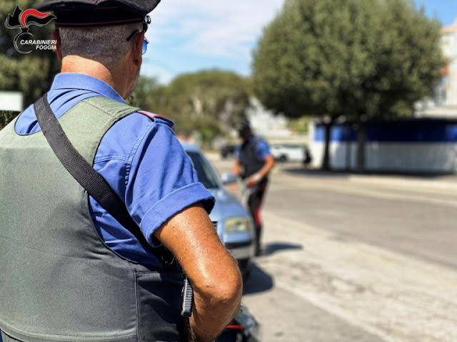 Foggia. Automobilista non rispetta l'ALT. Spettacolare inseguimento dei Carabinieri con speronamento