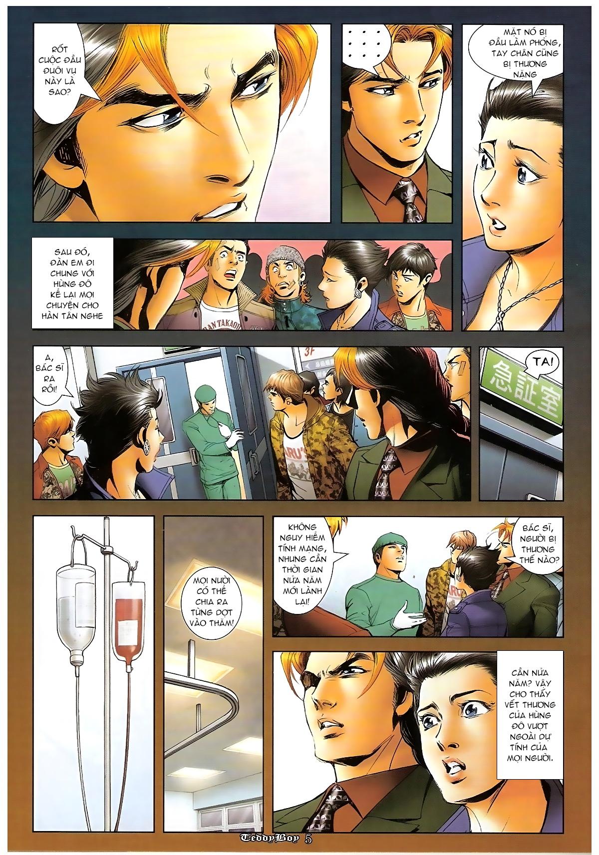 Người Trong Giang Hồ - Chapter 1267: Quá Giang Hổ vs Phi Châu Hổ - Pic 4