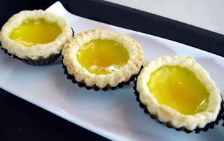 resep Dim Sum: Baked Mini Egg Tart renyah gurih