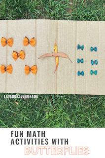 Fun MATH Activities with Butterflies