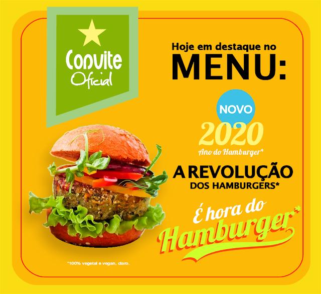 BIOVEGAN PORTUGAL ® 2020 ANO DO HAMBÚRGUER E A REVOLUÇÃO DOS HAMBURGERS