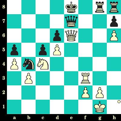 Les Blancs jouent et matent en 2 coups - Nino Batsiashvili vs Zuzana Borosova, Herceg Novi, 2005