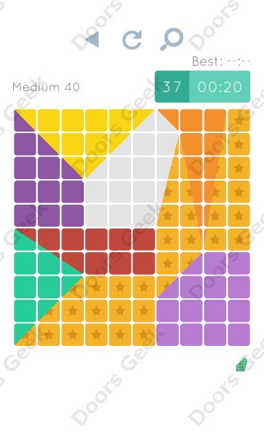 Cheats, Walkthrough for Blocks and Shapes Medium Level 40