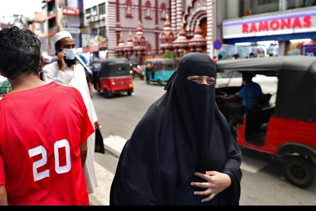 Sri Lankan steps to ban burqa