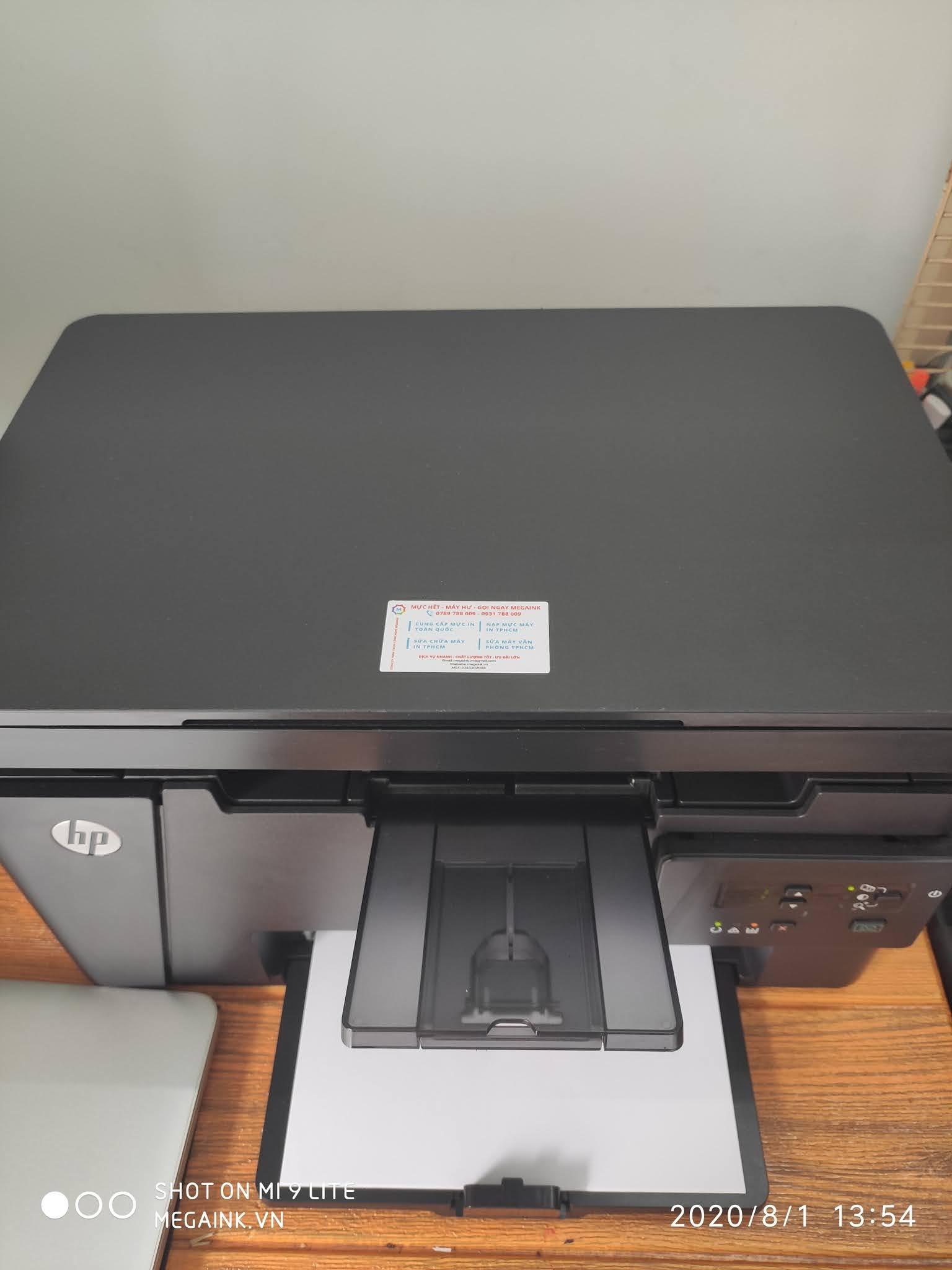 Thanh lý máy in HP M125A đa năng all in one In, Scan, Copy
