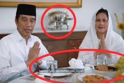 Analisis Video Ucapan Lebaran Presiden Jokowi, Roy Suryo Soroti Panci, Gus Nadir Beri Sindiran Ini