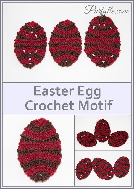Easter Egg Back Loop Crochet Pattern 3