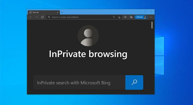 كيفية فتح وضع InPrivate في متصفح مايكروسوفت ايدج باستخدام اختصار لوحة المفاتيح