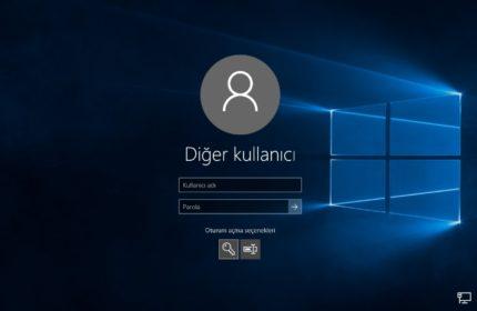 Windows 10 Yeni Kullanıcı Hesabı Nasıl Eklenir?