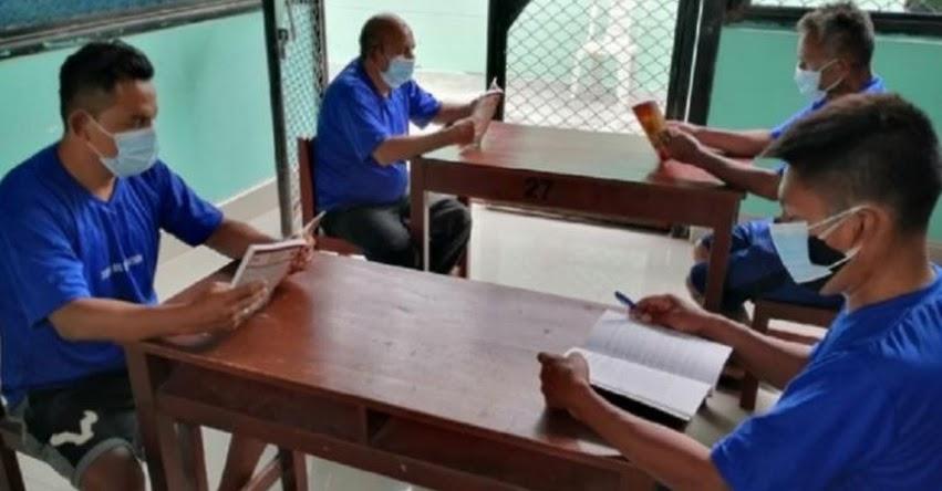 INPE: Habilitan 9 bibliotecas penitenciarias en la Región Nor Oriente San Martín