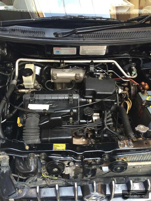 Santro Car Engine