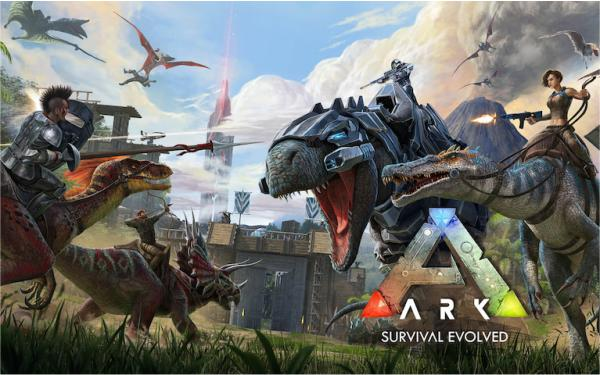 Best Android Open World Games Ark: Survival Envolved