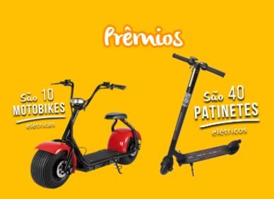 Promoção Frisco e Roldão Atacadista Motobikes e Patinetes