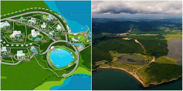 The plan of Selena World Resort and Casino