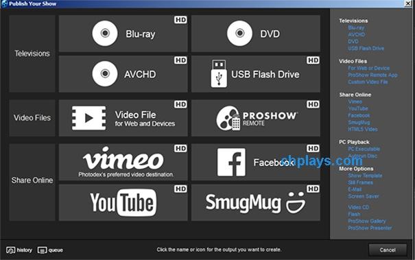 Hướng dẫn sử dụng Proshow Producer tạo video từ Album ảnh trên máy tính e