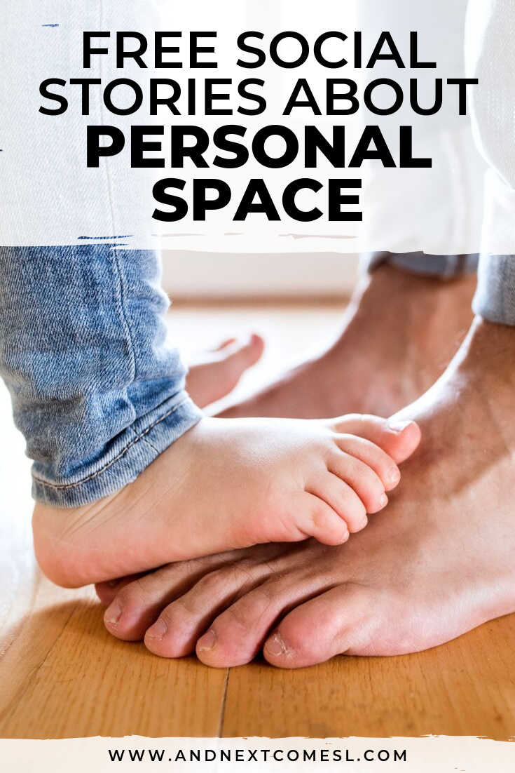 Looking for a personal space social story? Try one of these free social stories about personal space!