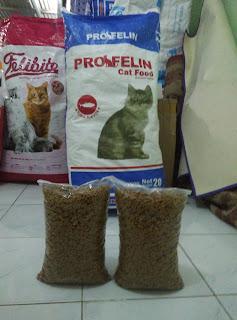 Makanan Kucing Profelin Segitu Petshop